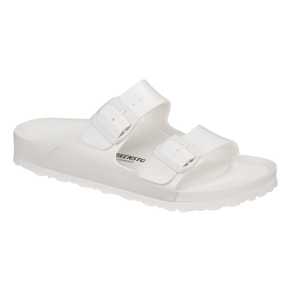 Birkenstock Women's Arizona Essentials EVA Sandals WHITE