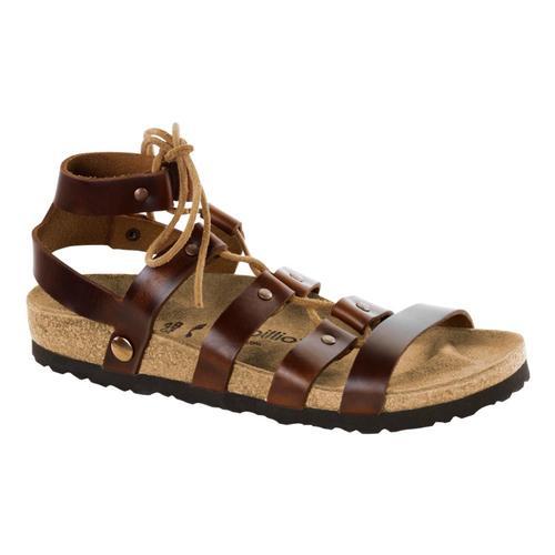 Birkenstock Women's Cleo Sandals Cognac