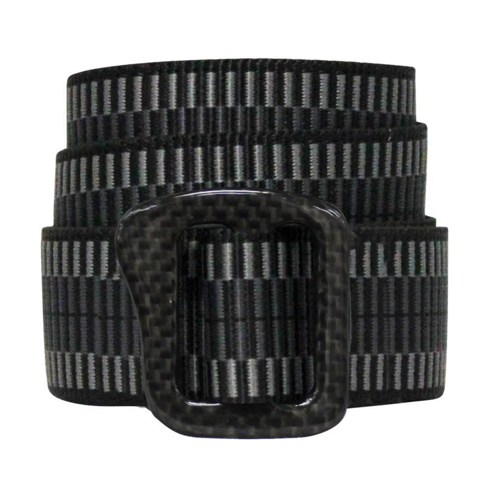 Bison Designs Carbonator Buckle Pattern Belt 30mm LDR.LCK.CHAR