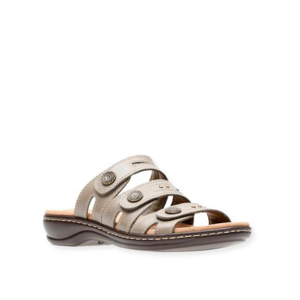 Clarks Women's Leisa Lakia Slide Sandals SAGE