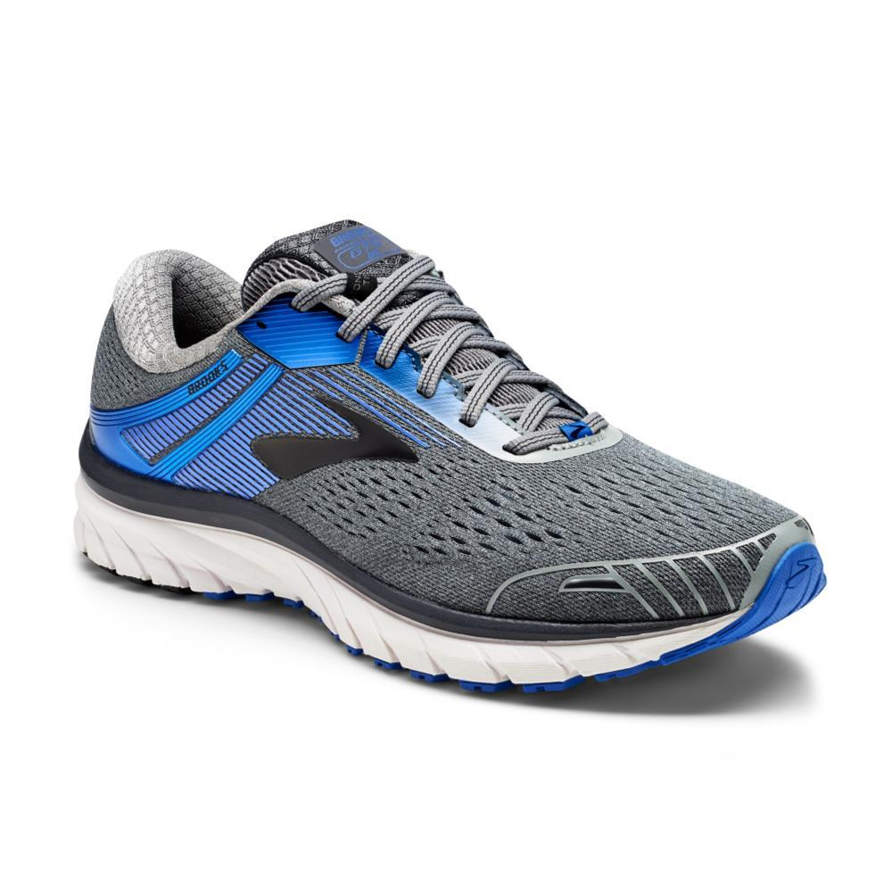 Brooks Men's Adrenaline GTS 18 Shoes GRY.BLU.BK
