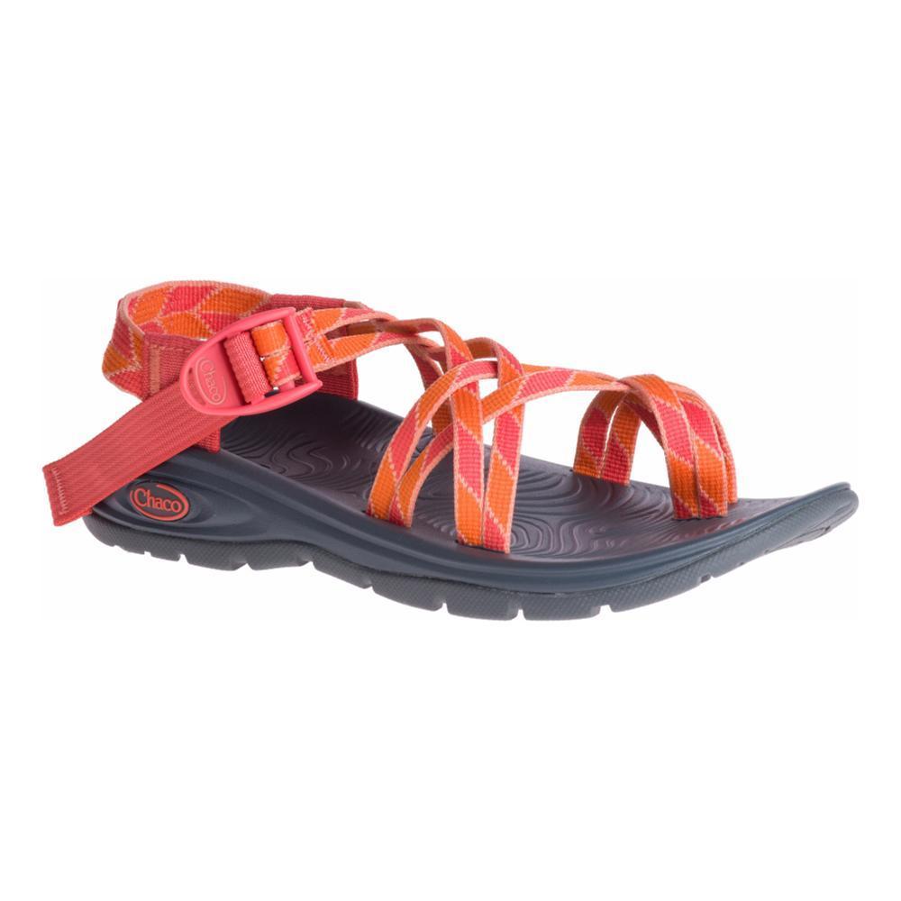 Chaco Women's Z/Volv X2 Sandals VERDPEACH