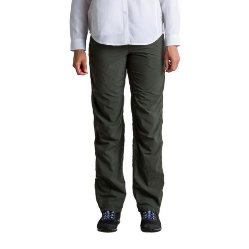 ExOfficio Women's BugsAway Damselfly Pants 32in Nori