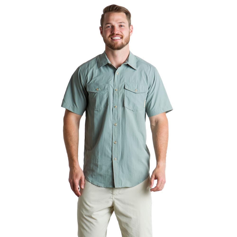 ExOfficio Men's Repio Short Sleeve Shirt DUSTYSAGE