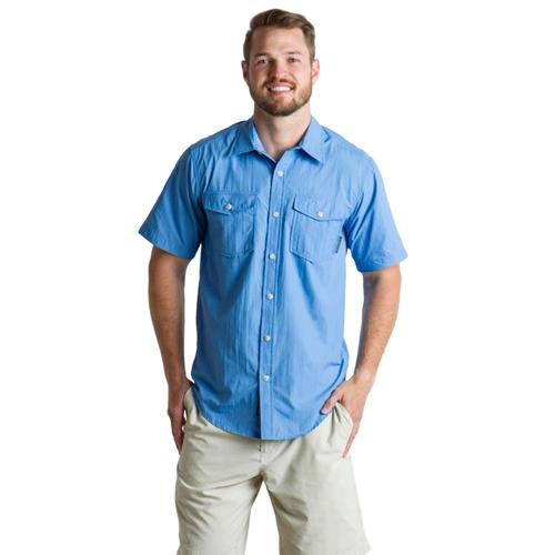 ExOfficio Men's Repio Short Sleeve Shirt Silverlake