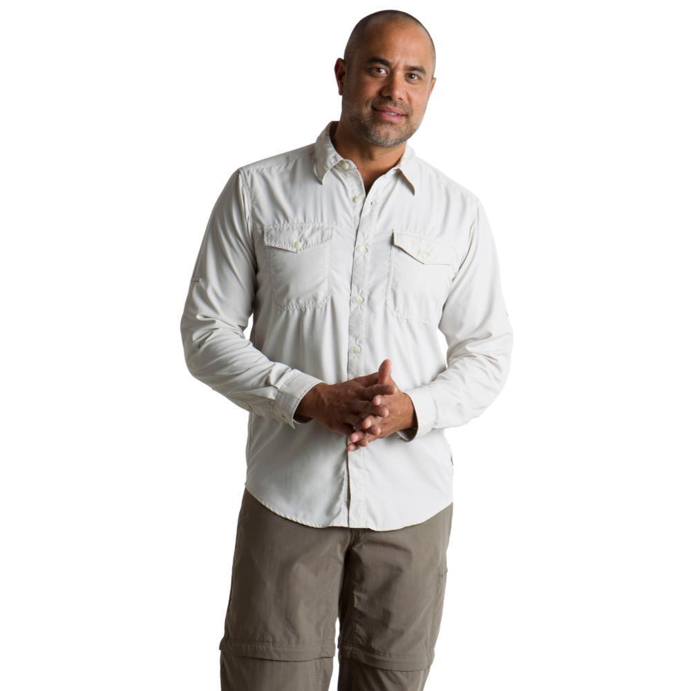 ExOfficio Men's BugsAway Briso L/S Shirt BONE