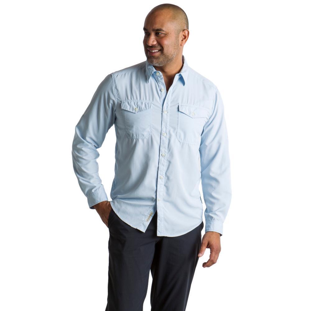 ExOfficio Men's BugsAway Briso L/S Shirt LTLAPIS