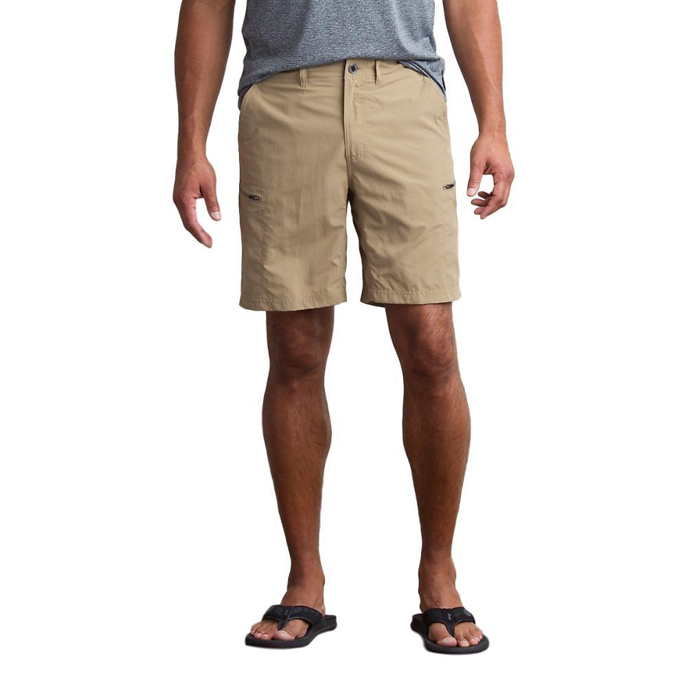 ExOfficio Men's Sol Cool Camino Shorts 8.5in WALNUT