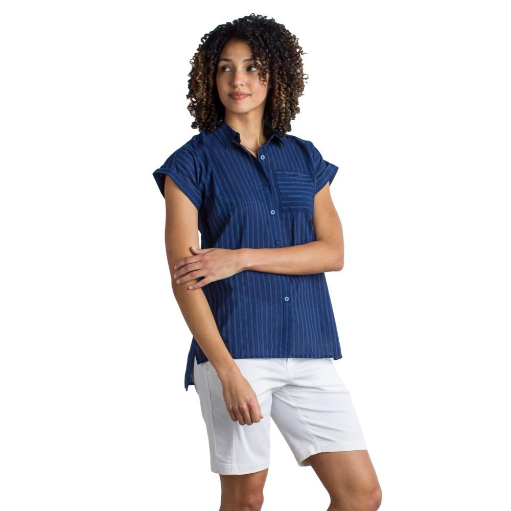 ExOfficio Women's Lencia Short Sleeve Shirt INK