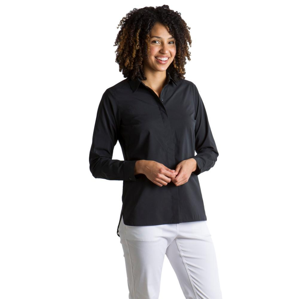 ExOfficio Women's Sofia L/S Shirt BLACK