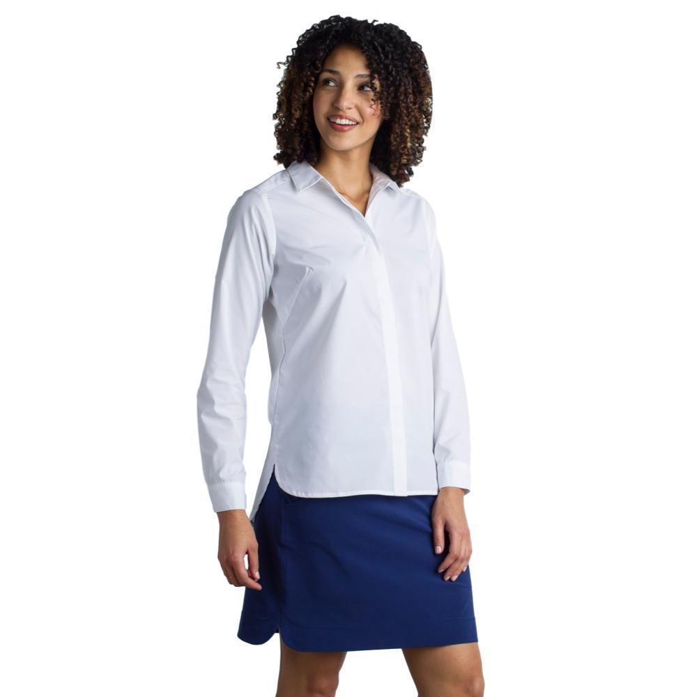 ExOfficio Women's Sofia L/S Shirt WHITE