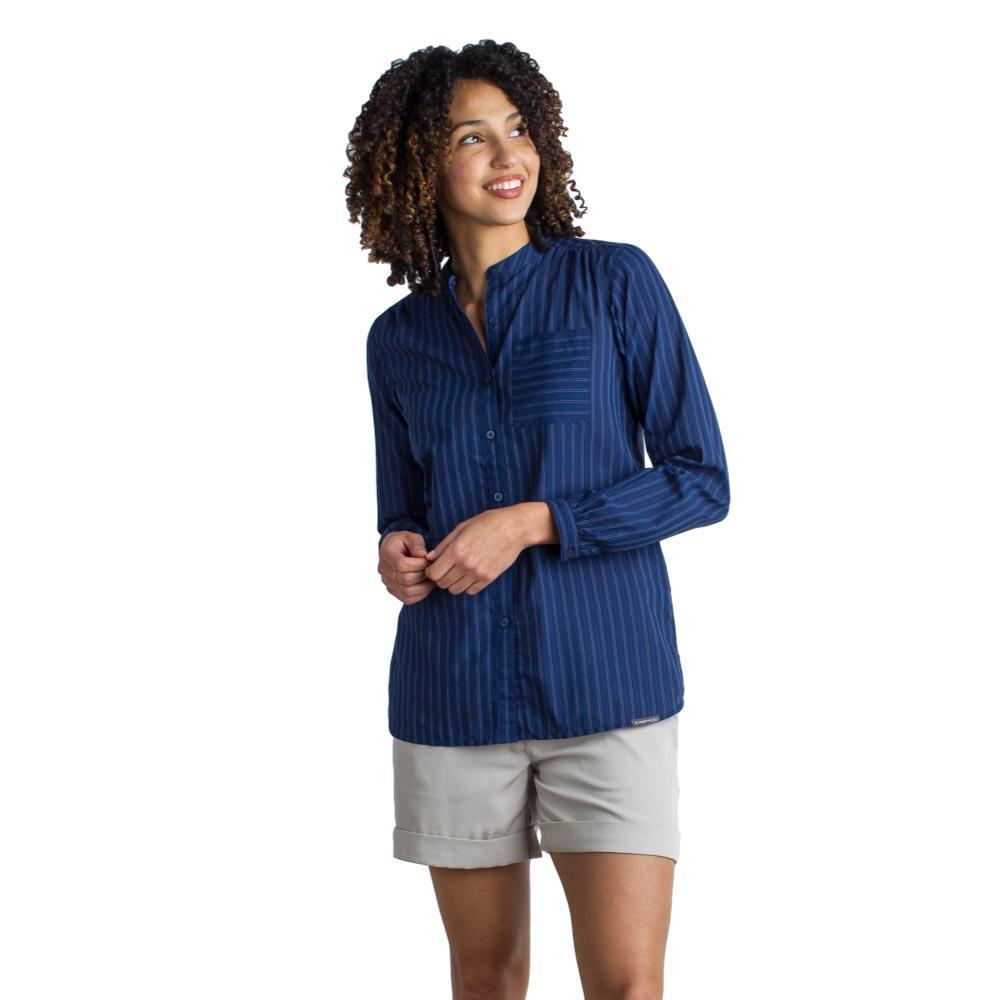 ExOfficio Women's Lencia Long Sleeve Shirt INK