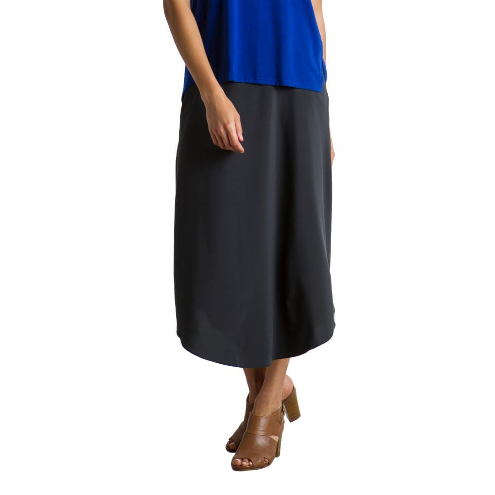 ExOfficio Women's Kizmet Midi Skirt BLACK