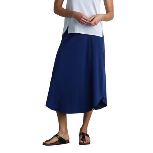 ExOfficio Women's Kizmet Midi Skirt Ink