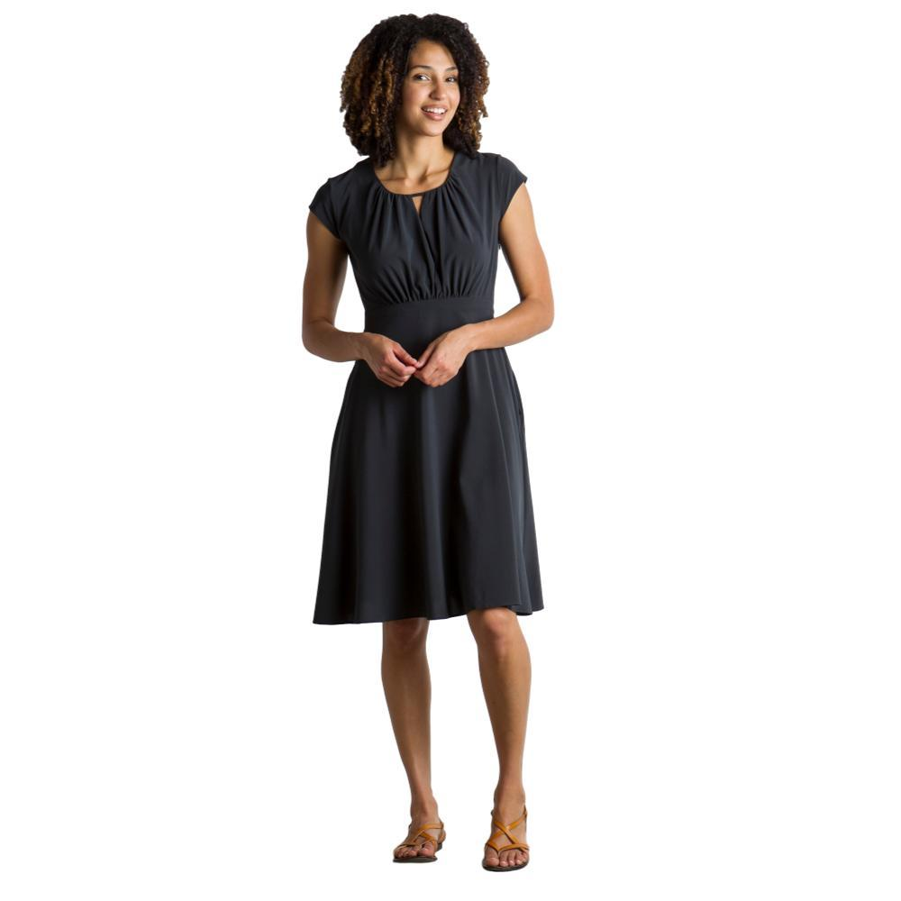 ExOfficio Women's Kizmet Cross Front Dress BLACK