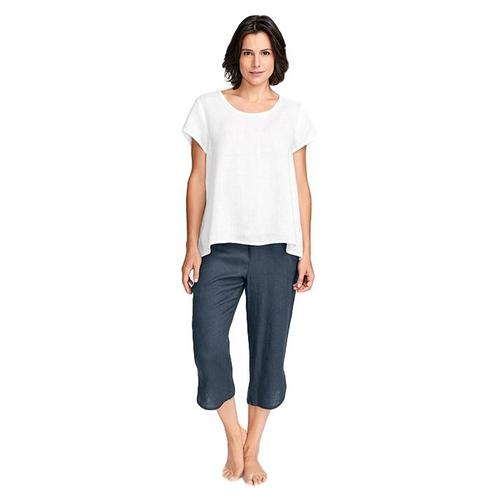 FLAX Women's Playful Top Purewht