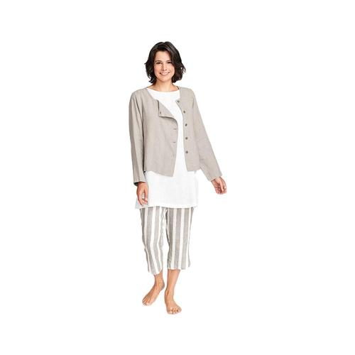 FLAX Women's Elemental Cardigan Natural