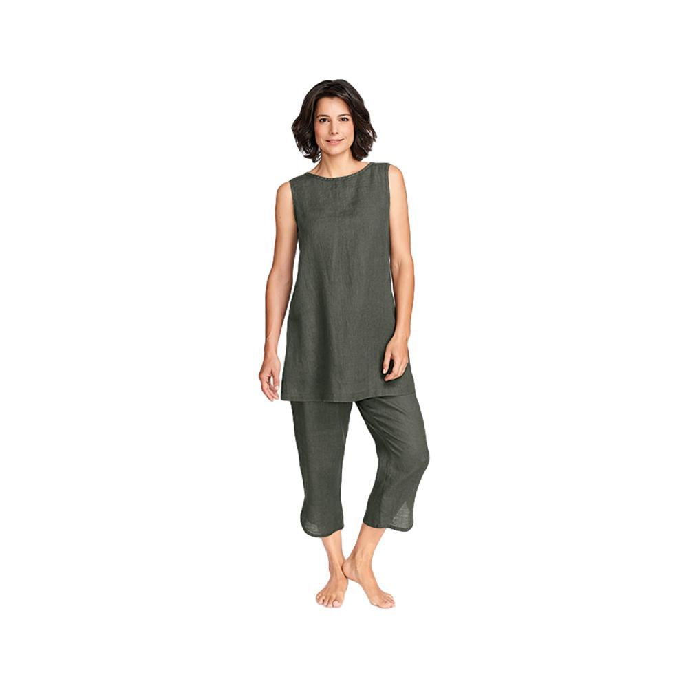 FLAX Women's Shirttail Crop Pants HERB