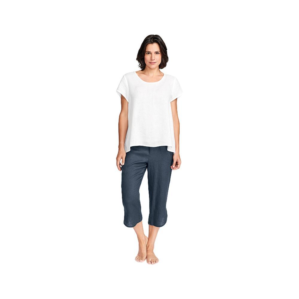 FLAX Women's Shirttail Crop Pants SLATE