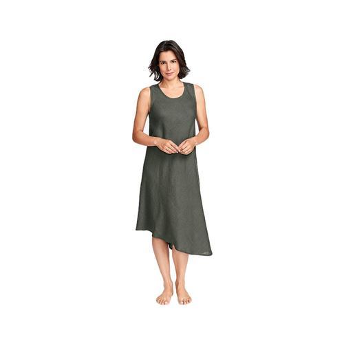 FLAX Women's Bias Tank Dress Herb