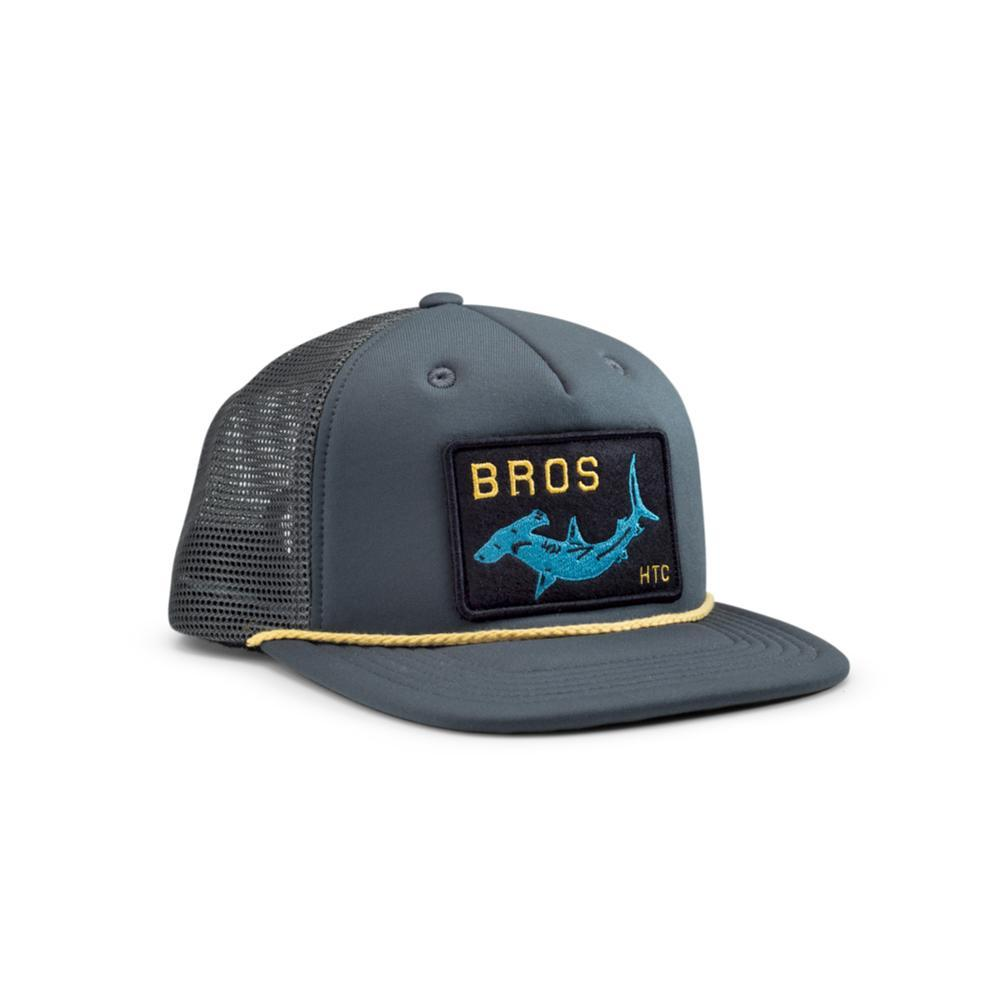 Howler Brothers Hammerhead Snapback Hat CHARCOAL