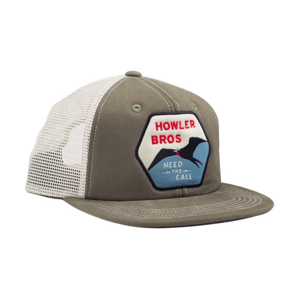 Howler Brothers Man-o-War Snapback Hat FATIGUE