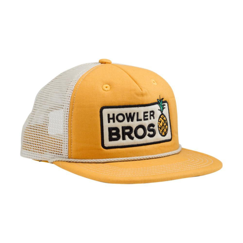 Howler Brothers Pineapple Snapback Hat YELLOW