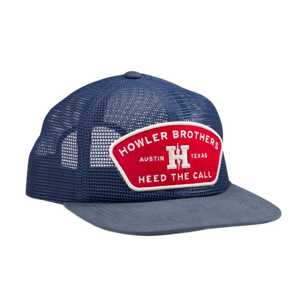 Howler Brothers Feed Store Unstructured Snapback Hat MESHBLUE