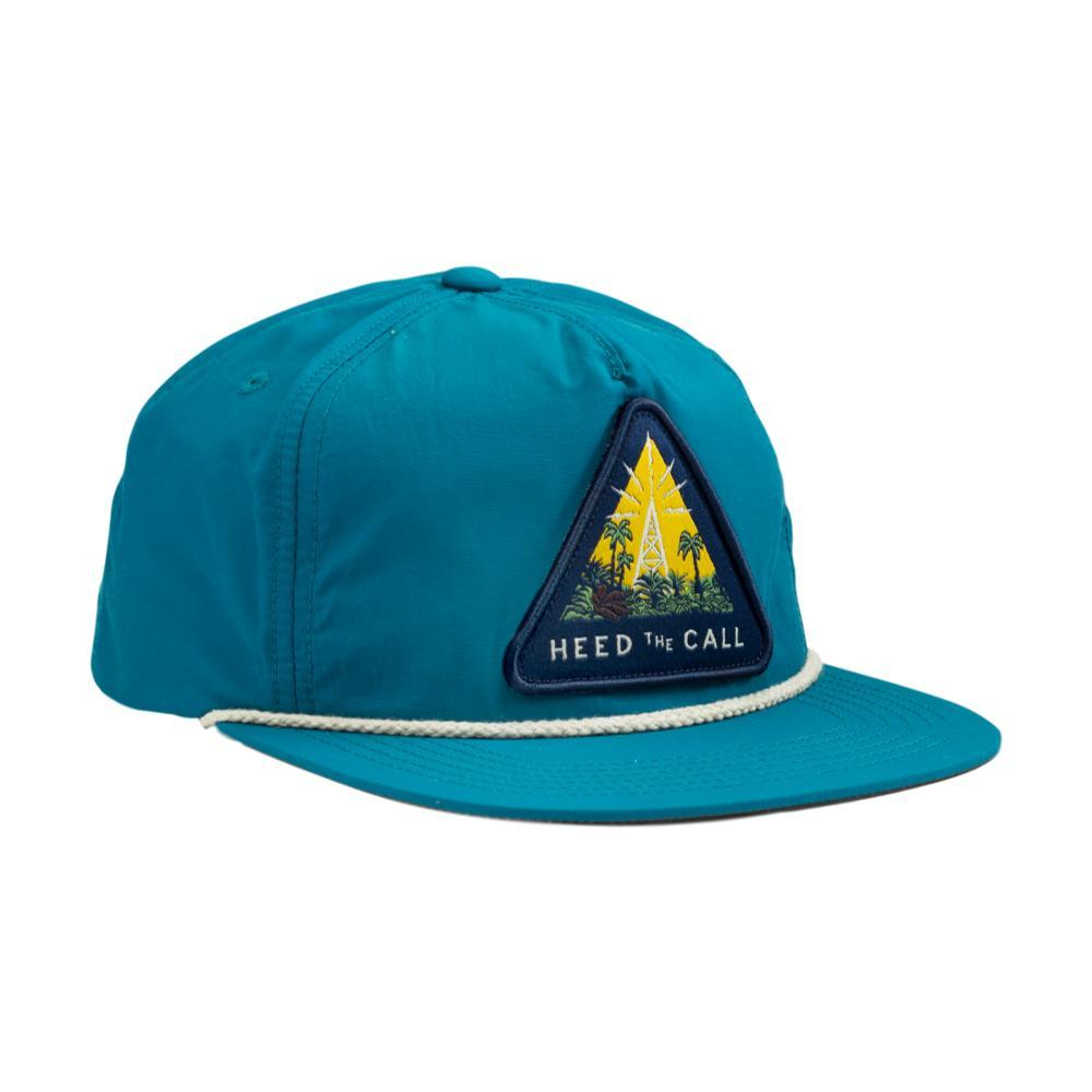 Howler Brothers Radio Tower Unstructured Snapback Hat NYLONTEAL