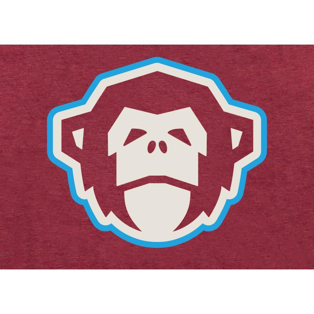 Howler Brothers Men's El Mono T-Shirt CARDINAL