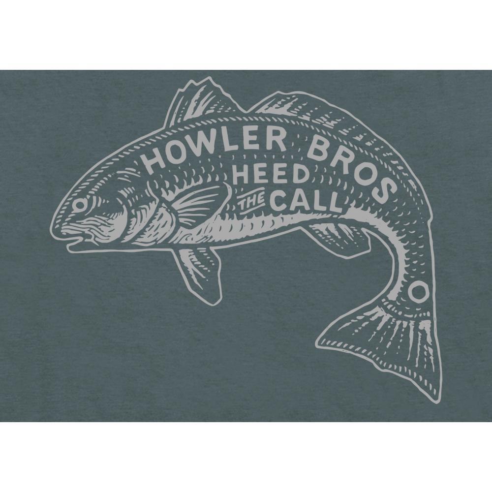Howler Brothers Men's Redfish Select T-Shirt INDIGO