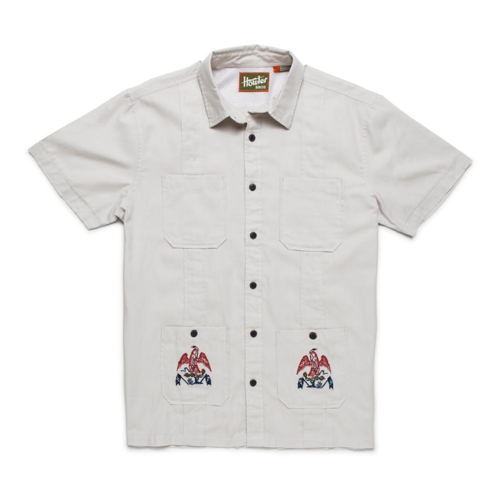 Howler Brothers Men's Guaybera Fantastica Short Sleeve Shirt COATOFARMS