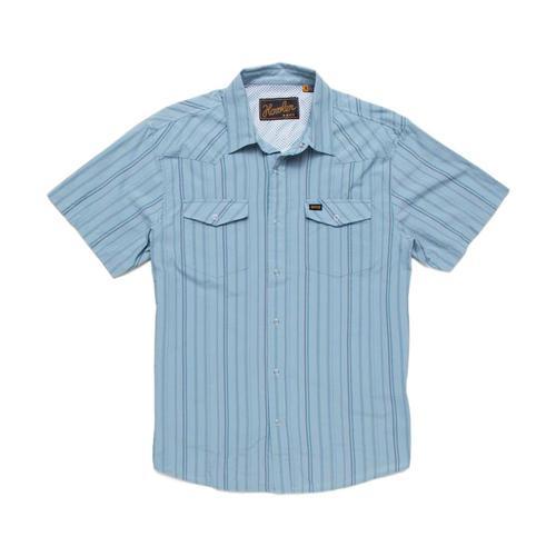 Howler Brothers Men's H Bar B Tech Short Sleeve Shirt Mantblue