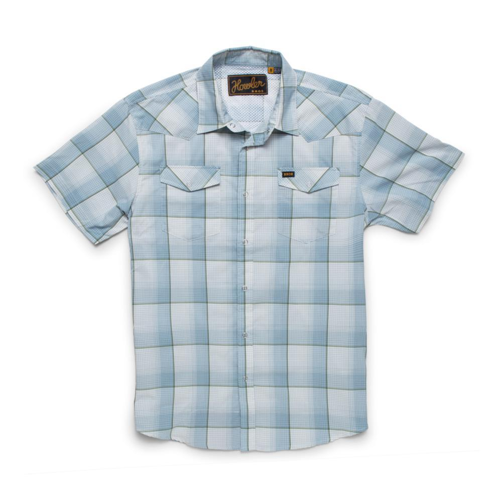 Howler Brothers Men's H Bar B Tech Short Sleeve Shirt STERLBLUE