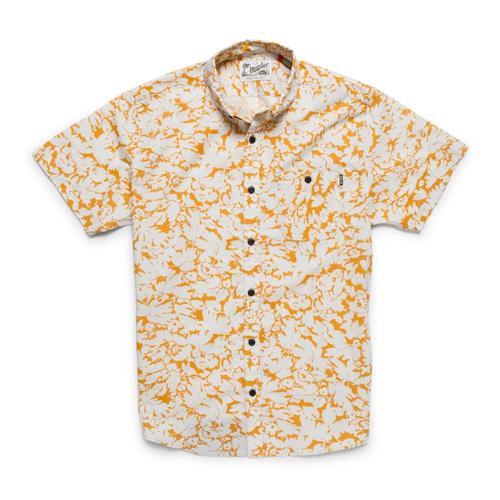 Howler Brothers Men's Mansfield Short Sleeve Shirt Mandarin