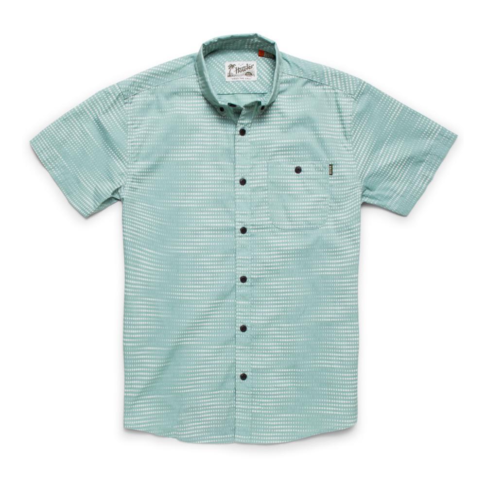 Howler Brothers Men's Mansfield Short Sleeve Shirt MISTGREEN