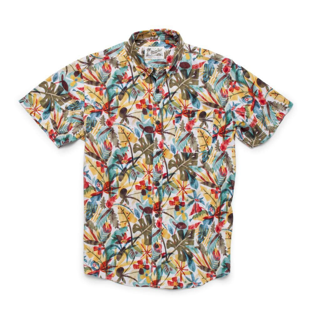 Howler Brothers Men's Mansfield Short Sleeve Shirt STONE