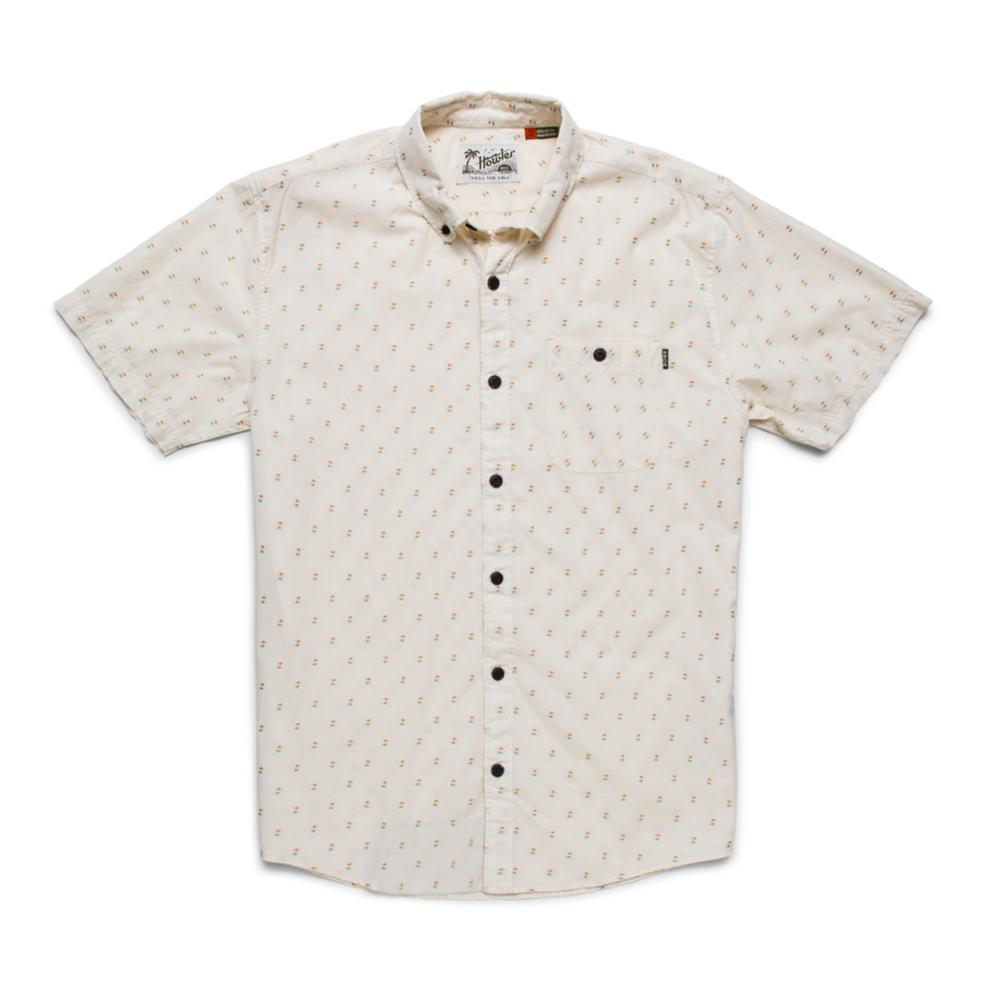 Howler Brothers Men's Mansfield Dobby Short Sleeve Shirt PARCHMENT