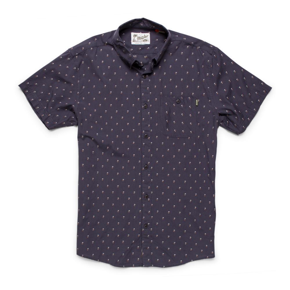 Howler Brothers Men's Mansfield Dobby Short Sleeve Shirt PAVEMENT