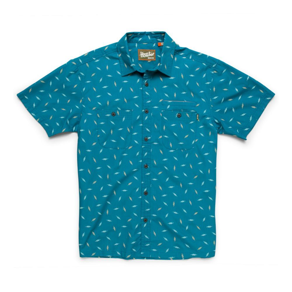 Howler Brothers Men's Aransas Short Sleeve Shirt ELBLUE