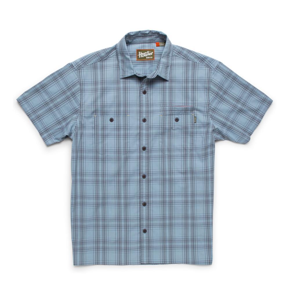 Howler Brothers Men's Aransas Short Sleeve Shirt HIGHBLUE