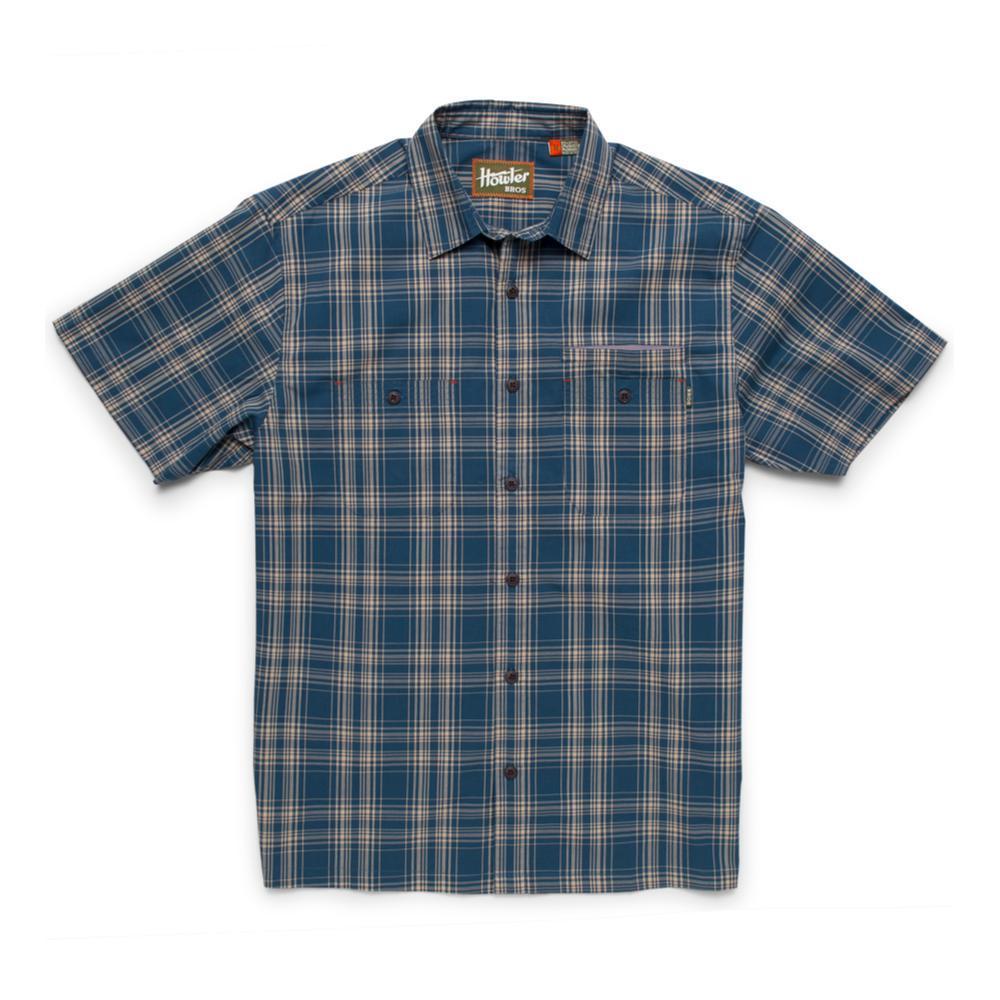 Howler Brothers Men's Aransas Short Sleeve Shirt NAVYBLUE
