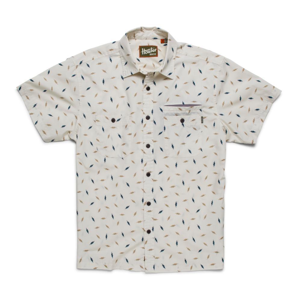 Howler Brothers Men's Aransas Short Sleeve Shirt OFFWHITE