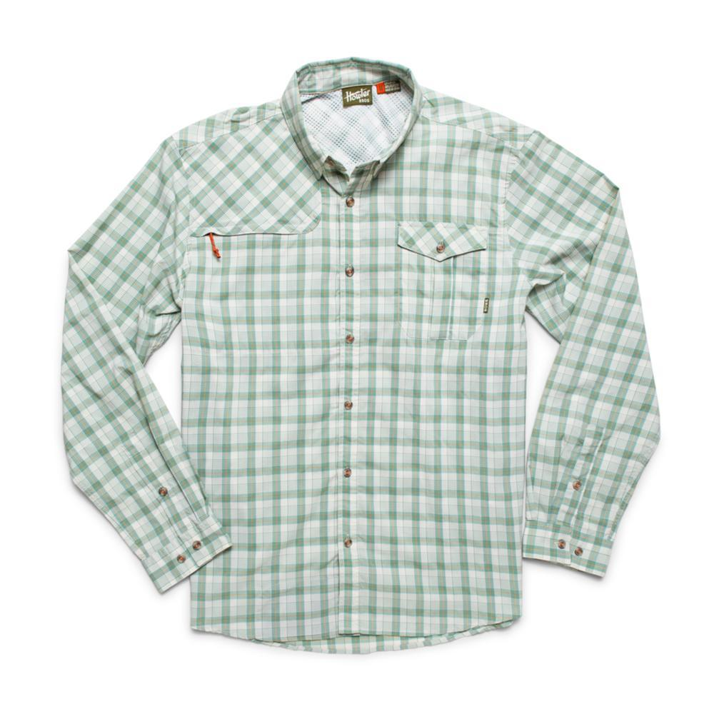 Howler Brothers Men's Matagorda Long Sleeve Shirt GREEN