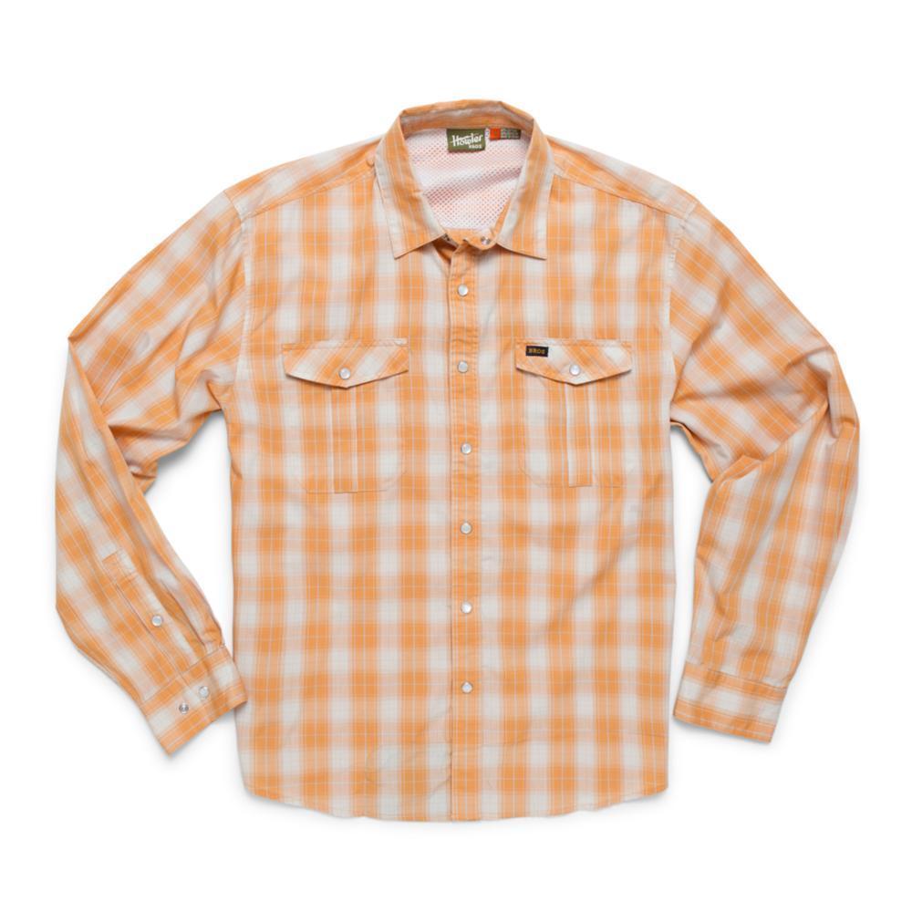 Howler Brothers Men's Long Sleeve Gaucho Snapshirt SUNSET