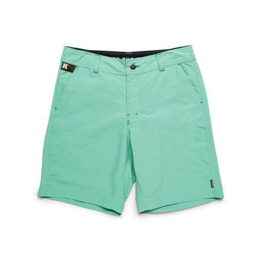 Howler Brothers Men's Horizon Hybrid Shorts - 9.5in Green