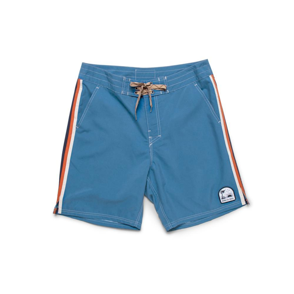 Howler Brothers Men's Chandler Old School Boardshorts - 7in BLUE