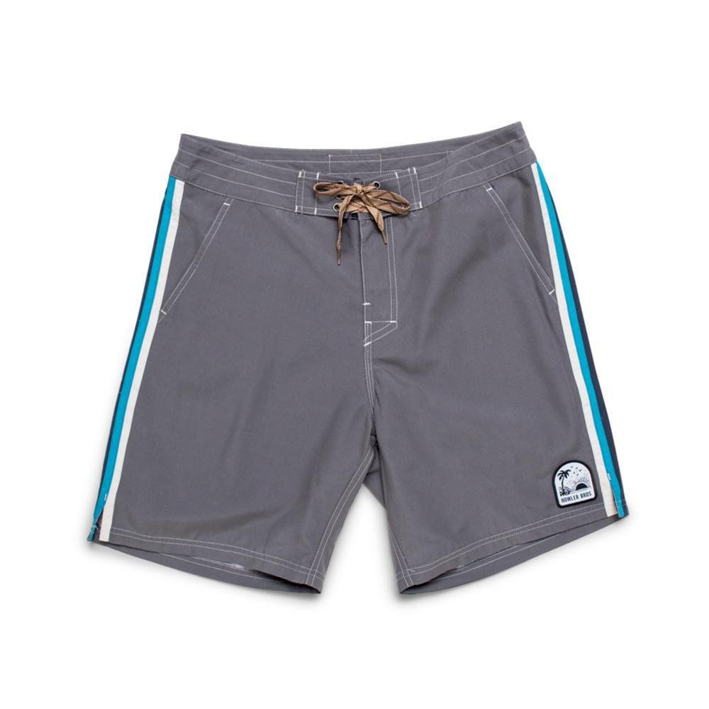 Howler Brothers Men's Chandler Old School Boardshorts - 7in GREY