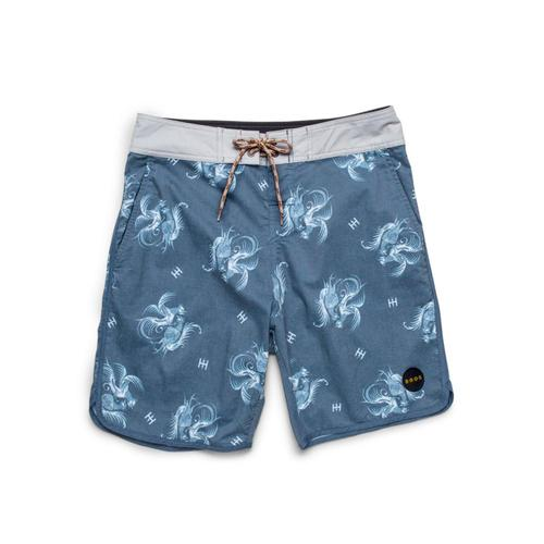 Howler Brothers Men's Stretch Bruja Boardshorts - 8.5in Madblue