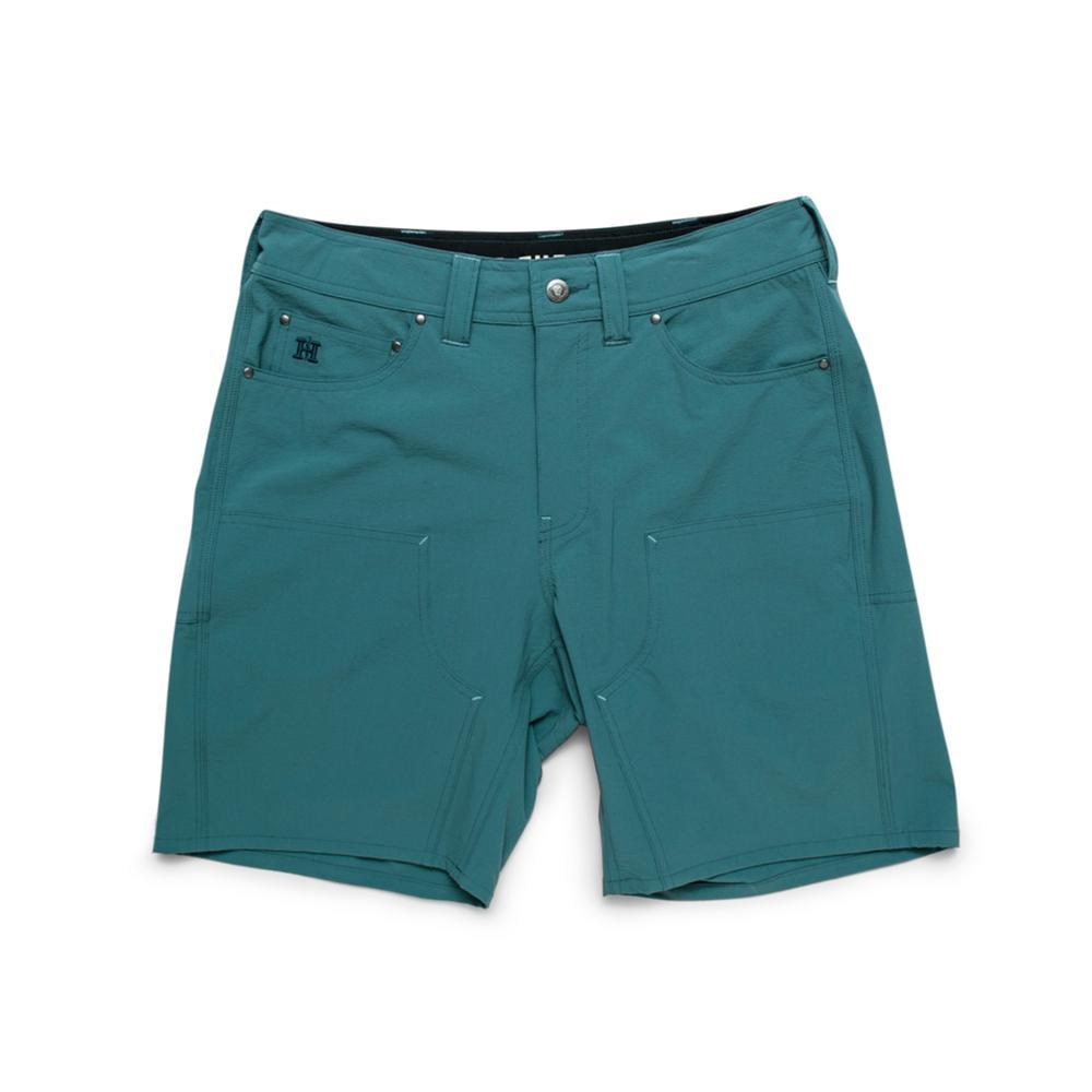Howler Brothers Men's Waterman's Work Shorts - 9in GREEN